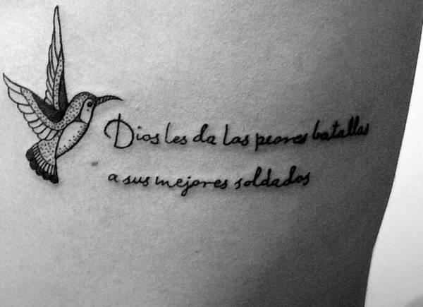 Significato e Idee  Tatuaggio Colibrì: Foto, Significato, Idee