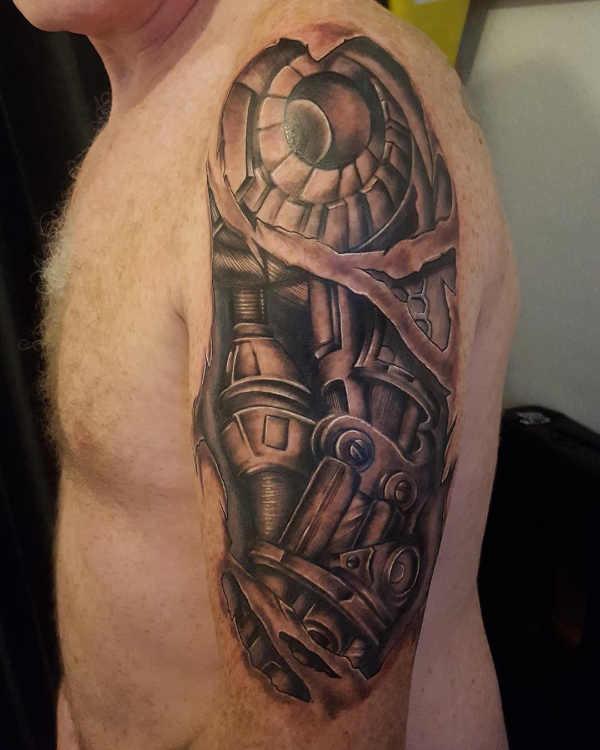 Significato e Idee  Tatuaggi Biomeccanici: Significato, Idee e Immagini