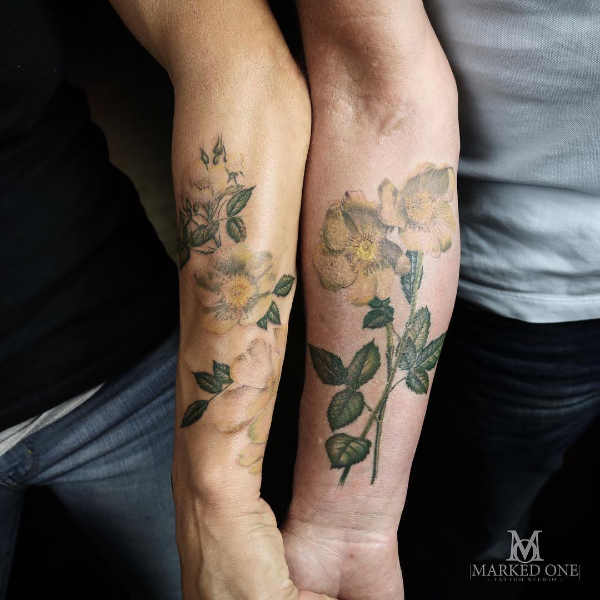Significato e Idee  Tatuaggi di Coppia: 50 immagini a cui ispirarsi