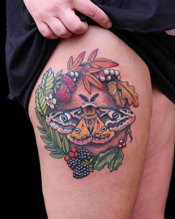Parte del corpo Significato e Idee  Tatuaggi Femminili sulla Coscia: 150 immagini a cui ispirarsi