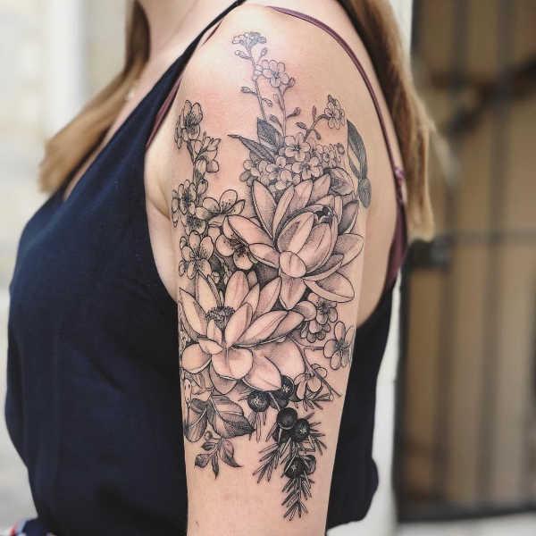 Significato e Idee Tatuaggi floreali  Tatuaggi Fior di Loto: Significato, Idee e Foto
