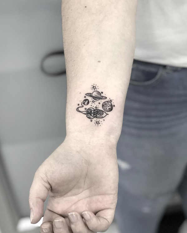 Significato e Idee  Tatuaggi Piccoli: 100 foto e idee bellissime