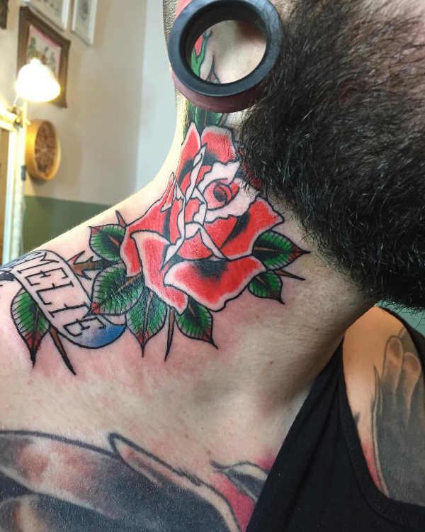 Parte del corpo Significato e Idee  Tatuaggi sul Collo: 100 immagini a cui ispirarsi