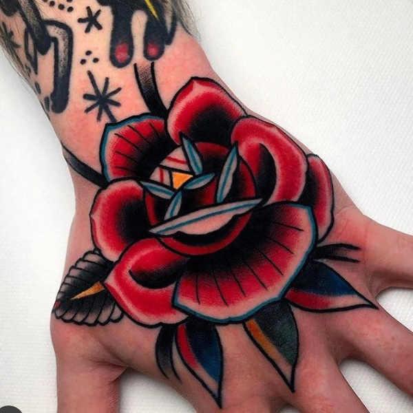 Parte del corpo Significato e Idee  Tatuaggi sulle Mani: Significato, 100 immagini a cui ispirarsi