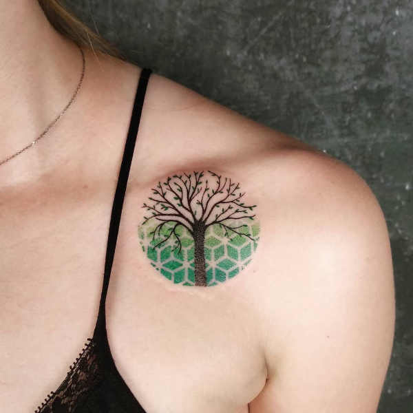 Significato e Idee  Tatuaggio Albero: Significato, Idee e Foto