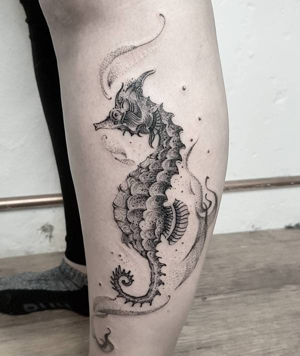 tatuaggio cavalluccio marino foto significato idee