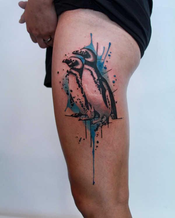 Animali Significato e Idee  Tatuaggio Pinguino: Significato, Idee e Foto