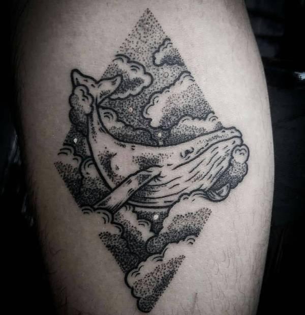 Animali Significato e Idee  Tatuaggio Balena: Foto, Significato, Idee
