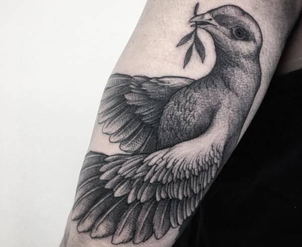 Tatuaggio Colomba Foto Significato Idee Tatuaggio Co