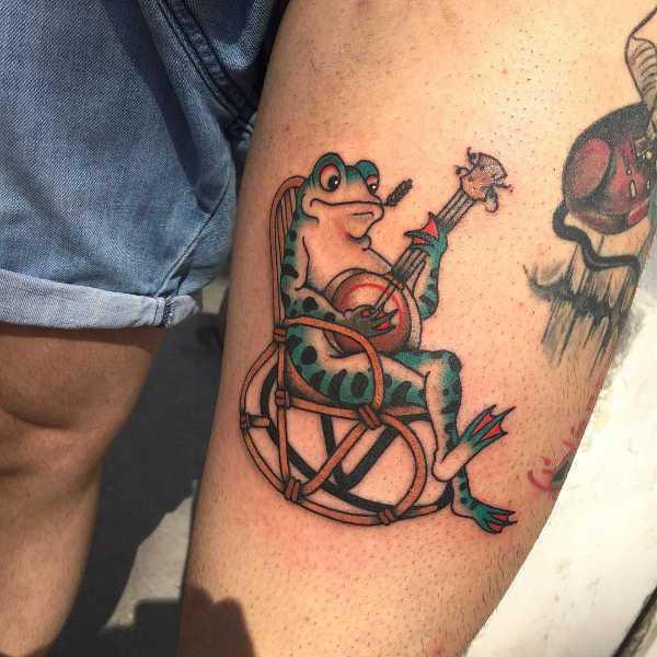 Animali Significato e Idee  Tatuaggio Rana: Significato, Idee e Foto