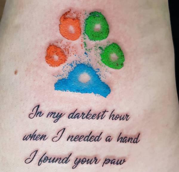 Tatuaggio Zampe Significato Idee E Foto Tatuaggio Co