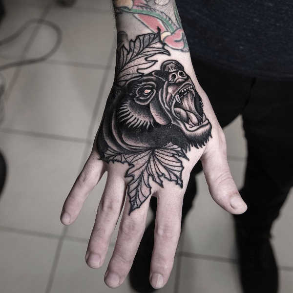 Tatuaggio orso significato idee e foto