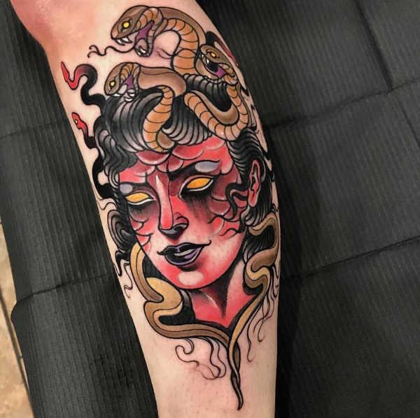 tatuaggi con medusa significato idee e foto