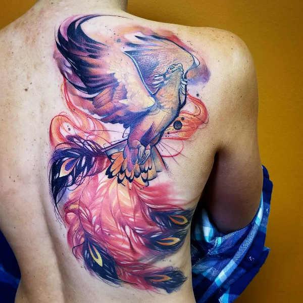 Significato e Idee  Tatuaggio Fenice: Significato, 36 immagini a cui ispirarsi