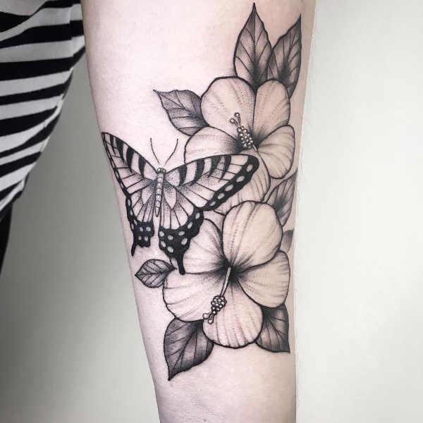 Tatuaggio Fiore Di Ibisco Significato Idee E Foto