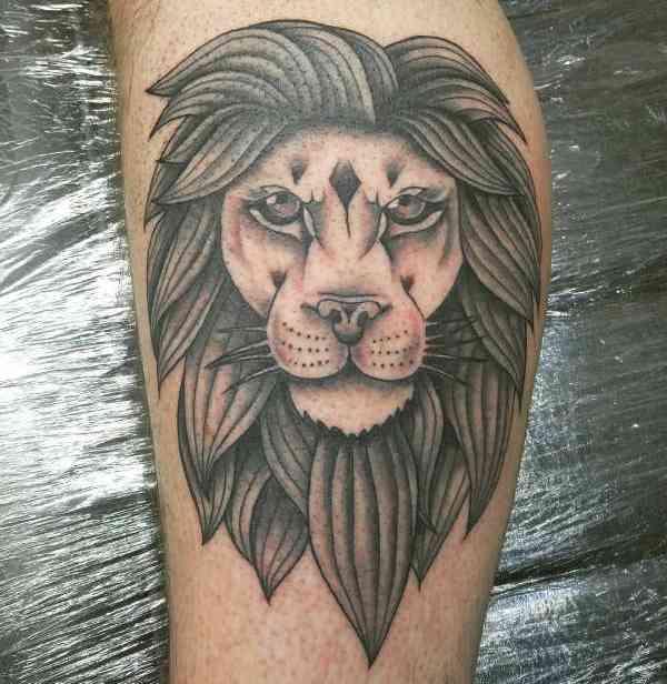 Animali Significato e Idee  Tatuaggio Leone: Significato, Idee e Foto