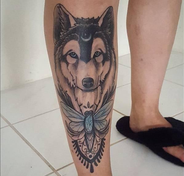 Animali Significato e Idee  Tatuaggio Lupo: Significato, Idee e Foto