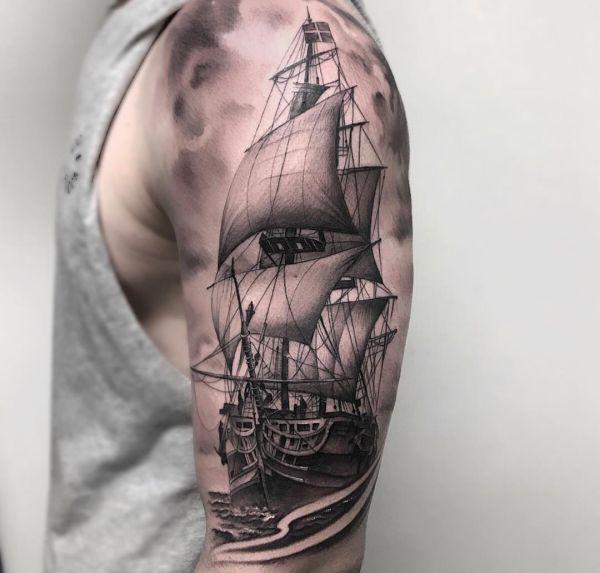 Tatuaggio nave foto significato idee