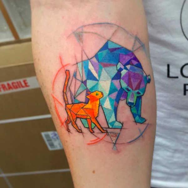 Animali Significato e Idee  Tatuaggio Orso Polare: Significato, Idee e Foto
