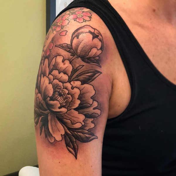 Significato e Idee Tatuaggi floreali  Tatuaggio Peonia: Significato, Idee e Foto