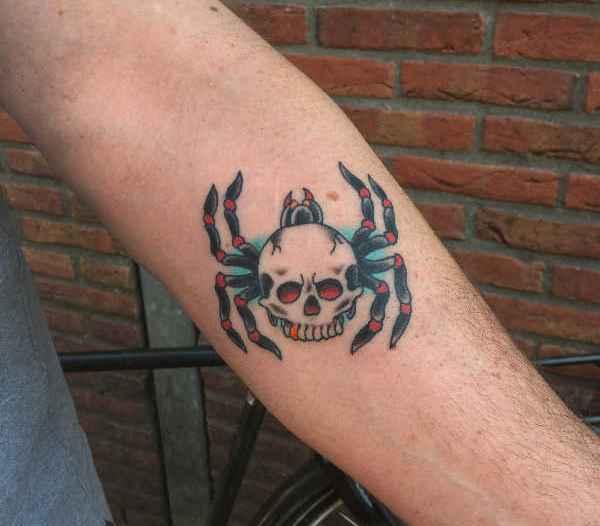Animali Significato e Idee  Tatuaggio Ragno: Significato, Idee e Foto