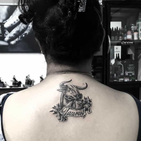 Significato e Idee Tatuaggi dei segni zodiacali  Tatuaggio Segno Zodiacale del Toro: Significato, Idee e Foto