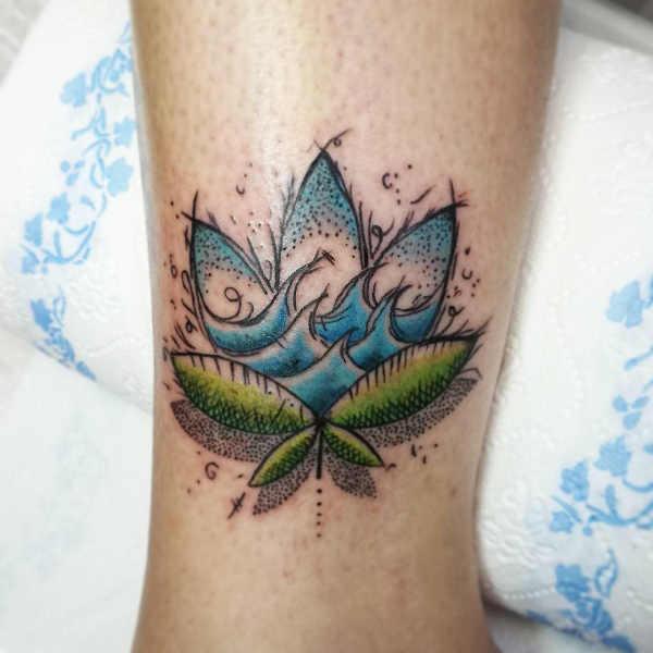 Significato e Idee Tatuaggi dei segni zodiacali  Tatuaggio Segno Zodiacale dell'Acquario: Significato, Idee e Foto