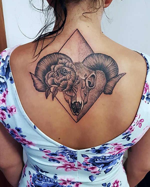 Significato e Idee Tatuaggi dei segni zodiacali  Tatuaggio Segno Zodiacale dell'Ariete: Significato, Idee e Foto