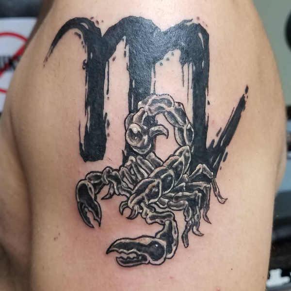 Significato e Idee Tatuaggi dei segni zodiacali  Tatuaggio Segno Zodiacale dello Scorpione: Significato, Idee e Foto