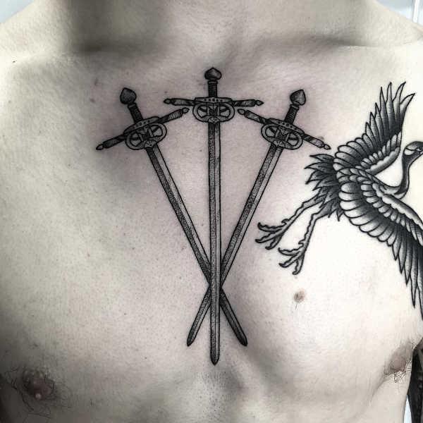 Significato e Idee  Tatuaggio Spada: Significato, Idee e Immagini