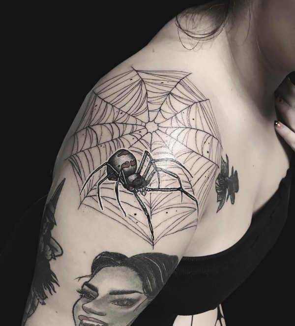 Parte del corpo Significato e Idee  Tatuaggio sulle Spalle: 140 immagini a cui ispirarsi