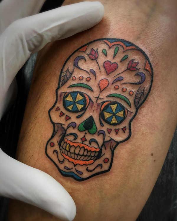 Significato e Idee  Tatuaggio Teschio: Significato, Idee e Foto
